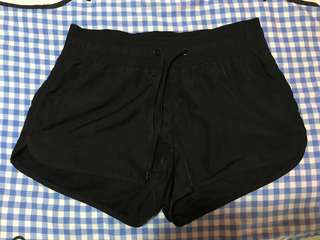 H&M Black Running Shorts