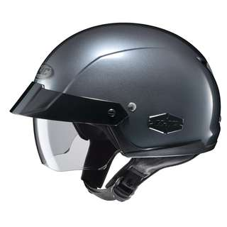 HJC IS-Cruiser SIZE LARGE ONLY Half Face Shell Motorbike Motorcycle Riding Helmet Anthracite