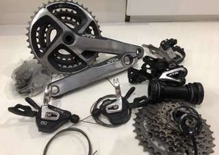 Shimano XTR M980 3 x 10 Speed Groupset High End