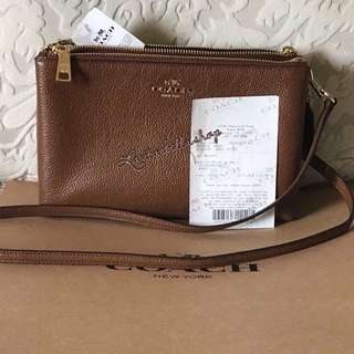 Coach brown Lyla crossbody bag