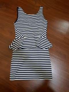 Dress stripe hnm