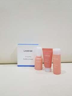Laneige calming trial kit