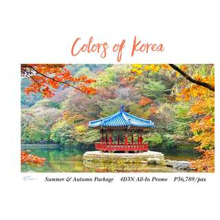 Colors of Korea 4D3N All-In Package