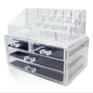 (SALE) Makeup Cosmetic Organizer Case Display Holder
