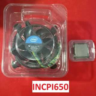 Processor for sale CORE I5 650 with free cooling fan