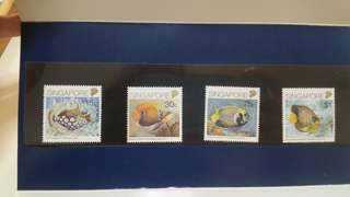 Fish Series Stamps