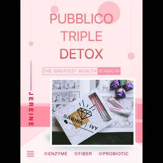 PUBBLICO DETOX DRINK 100% HIGH QUALITY INGREDIENTS