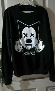 "Sweater ""FCKEM ALL"""