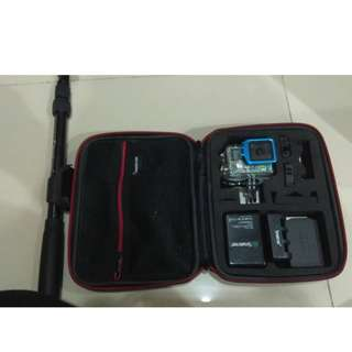 GoPro Hero 4 BlackEdition - Fullset !! - Set Complete -Condition tiptop