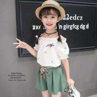 KIDS TERNO  Size:L,XL 3-8 yrs old  Price : 390