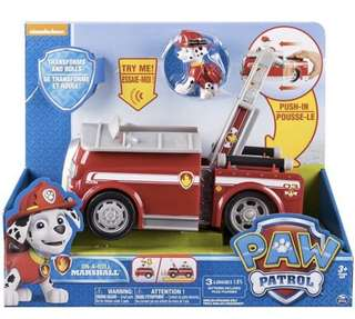 Paw Patrol On A Roll Marshall Action Vehicle Toy
