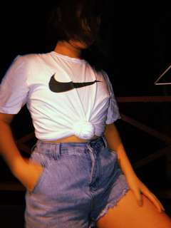 Basic White Nike Tee