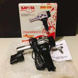 Hairdryer salon