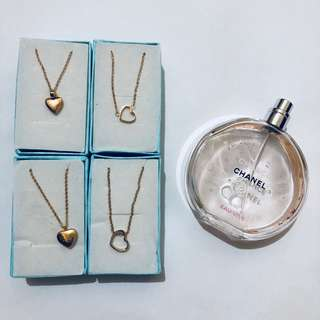 Dainty small pendant necklaces ✨