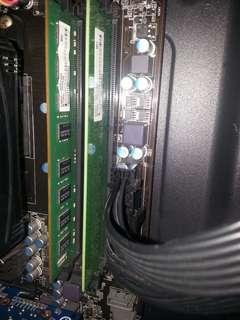 Gigabyte Gtx 660 oc dual fan + 4gb ddr3 1600fqz ram