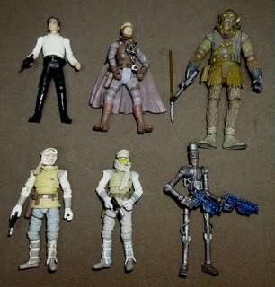 Star Wars loose figurez