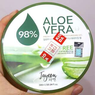 JAYEON Fresh Soothing Moisturizing Gel Aloe Vera 98%