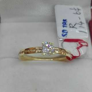 ( size: 6 ) 18K SAUDI GOLD RINGS .''''