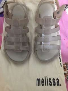 Pre loved melissa sandals size 13