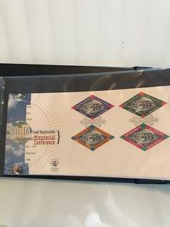 Complete set of Singapore first day covers 1991 to 2002