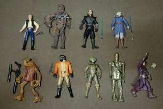 Star Wars loose figures