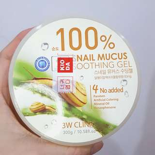 3W Clinic Snail Mucus Soothing Gel 100%