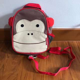 Authentic Skip Hop mini backpack with detachable rein