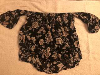 American Eagle Outfitters Off Shoulder Top