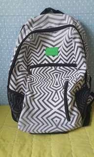 Reebok Zebra Zigzag Bagpack