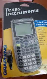Texas instrument TI 84 Plus Pocket SE