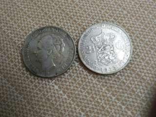 Nederland  Silver Coin  21/2gilder
