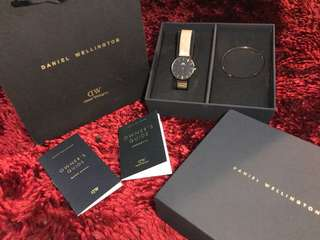 Original Daniel Wellington Classic Petite+Cuff rose gold