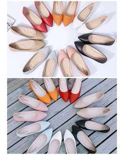 尖頭平底鞋