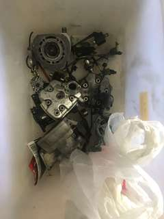 Cagiva mito engine parts crankshaft gearbox