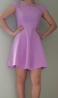 Lavander dress from style genie