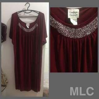 Women plus-size dress