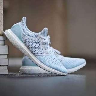 夏天就該來雙清爽的!!!! 台灣現貨🇹🇼  Adidas Parley x UltraBoost Clima LTD  白藍色💙💙