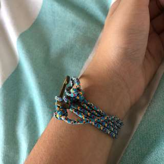 Blue Bracelet Anchor