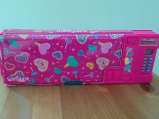 Brand new Smiggle pop up pencil case with calculator
