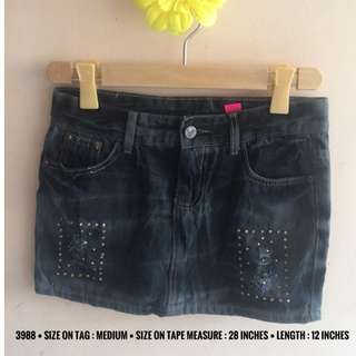 3988 DENIM SKIRTS