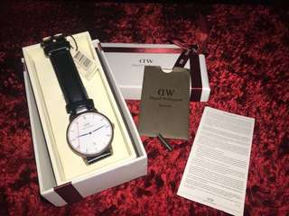 ORIGINAL Daniel Wellington Dapper Sheffield Gold 38mm