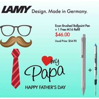 Original LAMY Writing Instrument for Father's Day