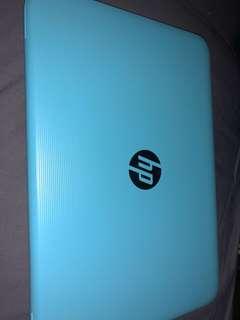 Hp blue laptop