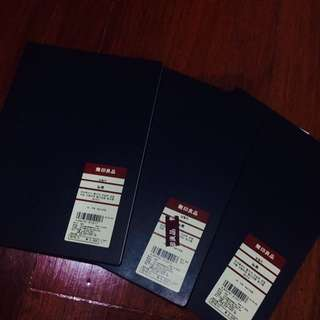 Muji A5 Black Rounded-Cornered Notebooks FOR SALE!!