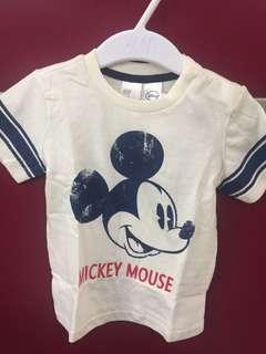 h&m disney tshirt (6-9M)