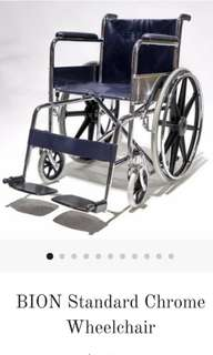🚚 Like new! Chrome wheelchair