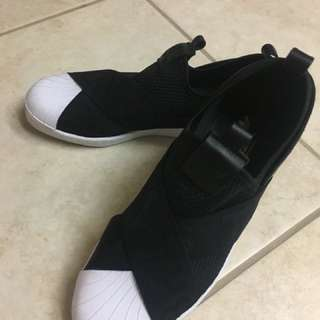 Adidas original superstar slip on