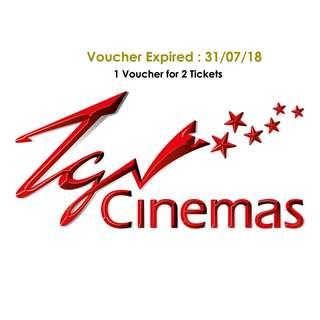 TGV Cinema Voucher (2 Tickets)