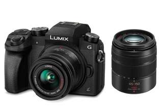 Panasonic Lumix G7 , 14-42mm & 45-150mm