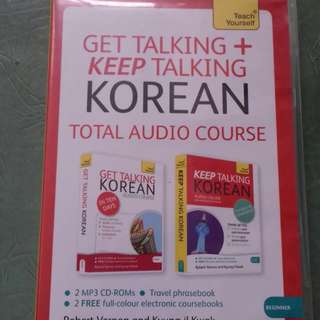 [TEACH YOURSELF] GET TALKING + KEEP TALKING KOREAN TOTAL AUDIO COURSE
